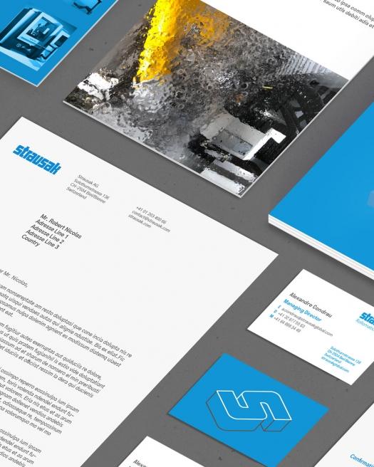 Strausak - B2B Branding and visual design