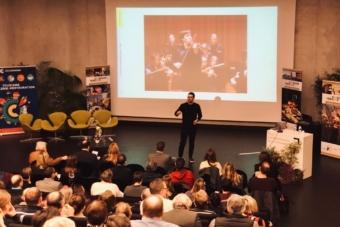 Invited to la Dordogne-Perigord Tourism for a keynote presentation on Storytelling