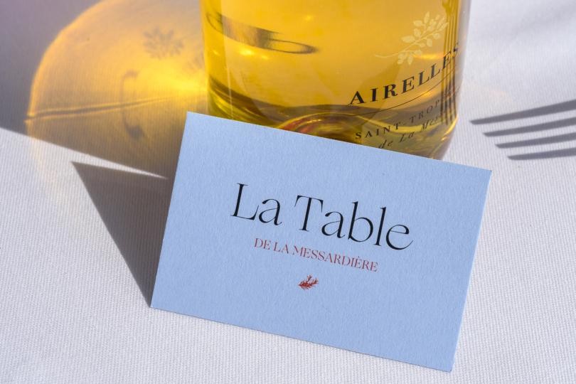 La Table des Airelles